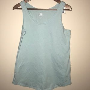 Old Navy light blue tank, size Medium tall NWT!